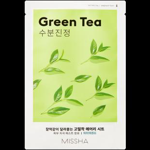 MISSHA AIRY FIT SHEET MASK- GREEN TEA